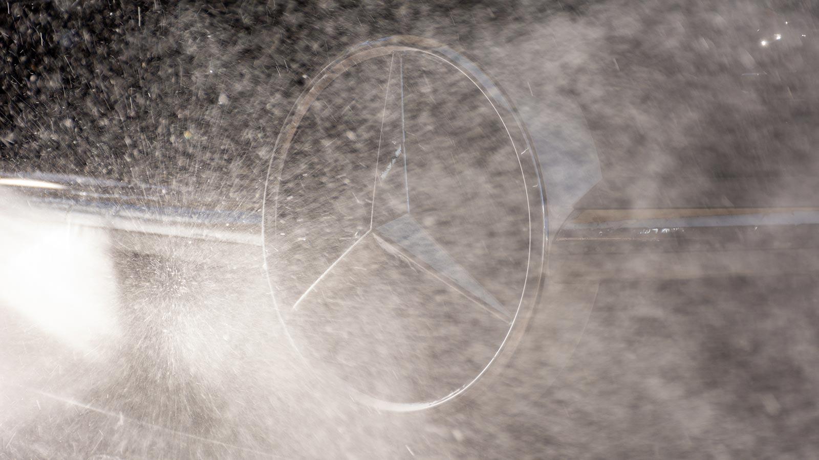 Mercedes Lackaufbereitung