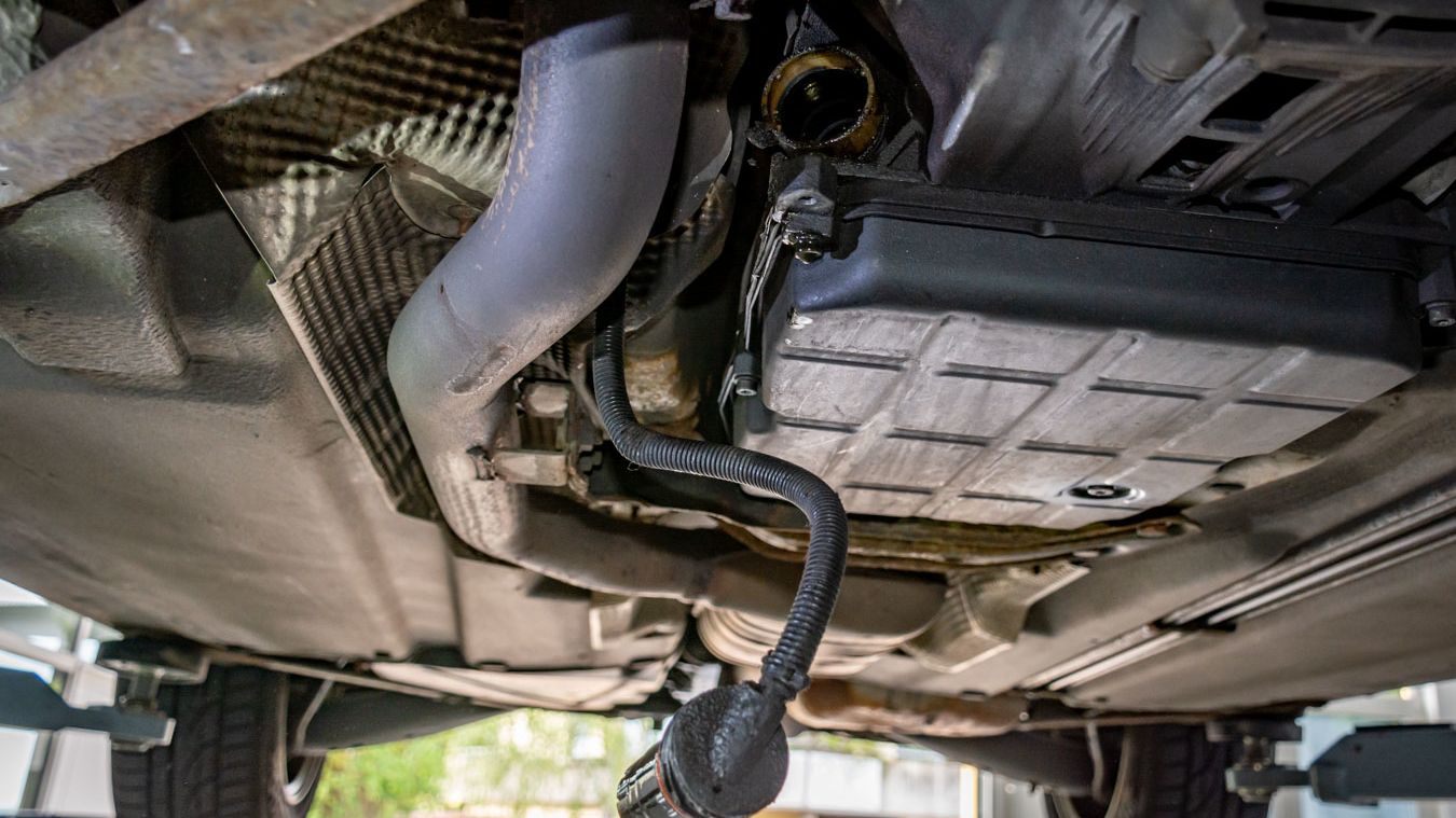 SLK 170 - Getriebestecker