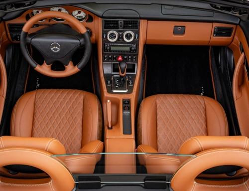 SLK 170 – Feinstes Leder im Mercedes